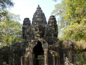 Angkor Thom - Entrada sur
