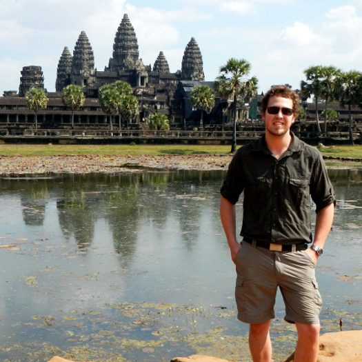 Angkorwat-Tours.com founder #1: German worltraveler Felix